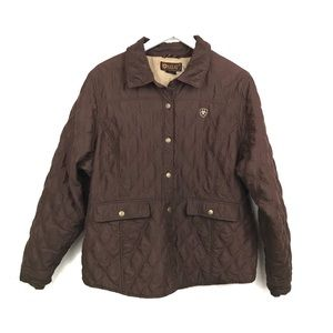 Ariat Quilted Jacket Shaw Insulated Riding XXL